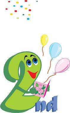 Happy 2nd birthday card free printable Happy Anniversary Cards, Wedding Anniversary, Preschool Birthday, Happy 2nd Birthday, Free Wedding, Party Hats, Birthday Celebration, Art Images, Free Printables