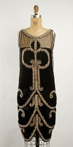 Callot Soeurs evening dress ca. 1925 via The Costume Institute of The Metropolitan Museum of Art