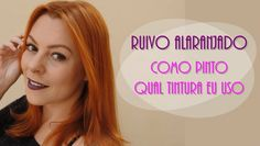Saiba qual tintura eu uso e  como eu pinto o meu cabelo em casa! Link: http://www.blogflordemulher.com.br/2015/10/ruivo-alaranjado-acobreado-como-eu.html