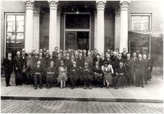 """Eersel, Installatie van P.G.A.G. Panken als burgemeester van """" Groot-Eersel """", bestaande uit Eersel, Duizel en Steensel. 1923"""