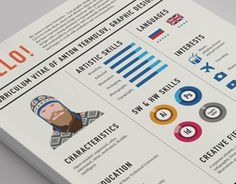 "Check out this @Behance project: ""Curriculum Vitae"" https://www.behance.net/gallery/13691451/Curriculum-Vitae"