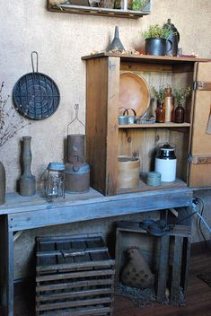 country primitive decor | Tumblr