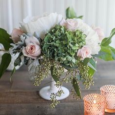Extend the impact of a few simple bouquets by adding DIY crepe flowers to the…