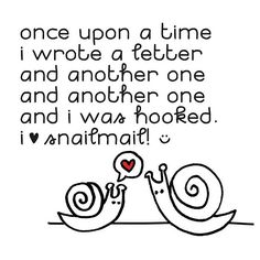 I ♥ snailmail. Anyone looking to share snail mail & mail art, let me know.