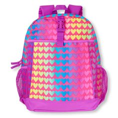 Matches our Multi-Colored Hearts Lunchbox!