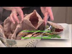 VitaMix Wheatberries to Pita Bread - just fresh ground wheat and water