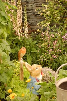 The Peter Rabbit Herb Garden - RHS Chelsea 2014 - via The Cupboard