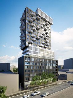 SOBA 203 Catherine Street, Ottawa, Ontario, Canada. Lamb Development Corp. 233 Condo units, 19 storeys, 150,560 sq.ft. GFA