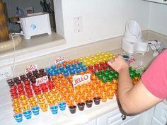 3 Easy Tropical Flavored Jello Shots Recipes (as well as basic jello shot recipe)