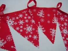 2 meters christmas frozen snow flakes and christmas trees party bunting