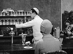 littlehorrorshop Harold Lloyd puts the cherry on top in Speedy, 1928