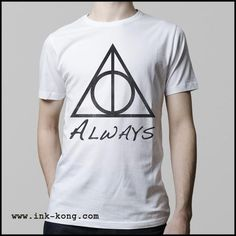 Ropa: Playera Hombre Harry Potter Snape Always Tv y Cine Personajes