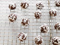 These raw, three-ingredient truffles (from our GOOP CLEAN BEAUTY book) are the perfect bite to satisfy your detoxing sweet tooth. We recommend making a double batch and keeping them in the fridge so you're always ready to combat those cookie cravings.