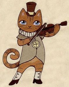 Nursery Rhymes - Cat and the Fiddle_image