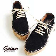 #Gaimo Maslin Blucher #Espadrilles   Spanish Shoes   Spanish Crafts - SPANISH SHOP ONLINE   SPAIN @ your fingertips