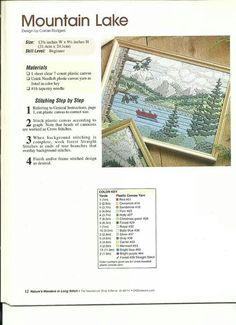 Wonders in Long Stitch Mountain Lake 1/2