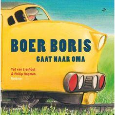 Boer Boris gaat naar Oma is het achtste prentenboek in de succesvolle reeks van Ted van Lieshout en Philip Hopman. In dit deel gaat Boris met zijn broertje en zusje naar Oma in Den Haag. Grandma And Grandpa, Teaching, Ted, Vers Fruit, Books, Transportation, Website, Products, Holland
