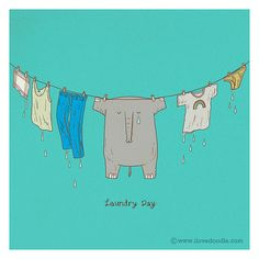 Laundry Day by ILoveDoodle, via Flickr