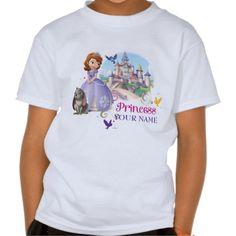 Personalized Princess Sofia T Shirts #Personalized #tshirt