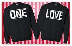 One Love Couple Sweatshirt, Matching Couple Shirts, Anniversary Shirts, His and Hers Shirt, Engagement Gift, Couple Hoodies, Gift For Couple #tshirts