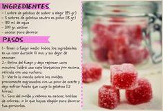 Gominolas caseras Sin Gluten, Raspberry, Food And Drink, Fruit, Vegetables, Cooking, Creative, Sweet, Desserts