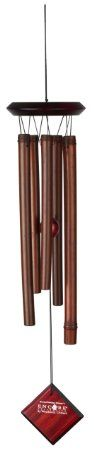 Woodstock DCBC Encore Bamboo Chime Collection, Cocoa