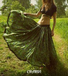 india Skirt boho freepeople style gypsy tribal fusion bellydance banjara yard