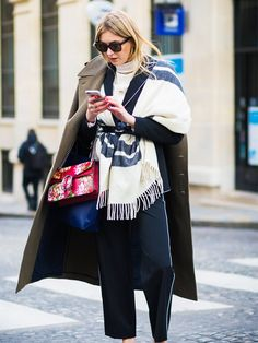 The 2017 Way to Layer Your Clothes via @WhoWhatWearUK