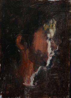 """Saatchi Art Artist Ian Costello; Painting, """"Everybody's Heard About the Bird"""" #art"""