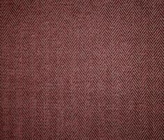 Hardwick Chenille A small herringbone chenille upholstery fabric in burgundy.