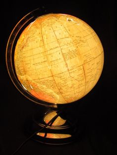 World Globe Lamp - this one's better
