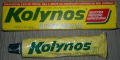 antigo creme dental kolynos q depois virou sorriso e sumiu kkkkkkkkkkkk #anos80
