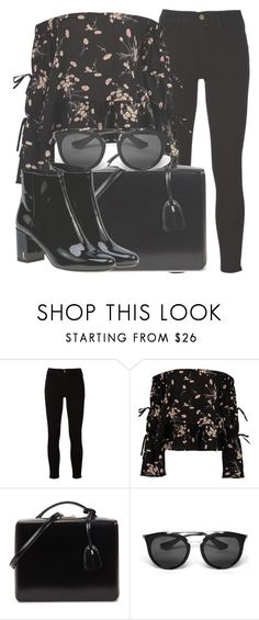 """Outfit #1641"" by lauraandrade98 on Polyvore featuring Frame, Boohoo, Mark Cross, Prada and Yves Saint Laurent"