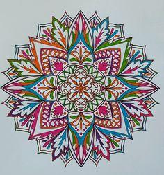 ColorIt Mandalas to Color Volume 1 Colorist: Diane Cole #adultcoloring #coloringforadults #mandalas #mandalastocolor