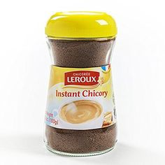 Leroux Regular Instant Chicory (Pack of Coffee Substitute, Chicory Root, Instant Coffee, Healthy Alternatives, Drinking Tea, Gourmet Recipes, Gadget, Food, Android
