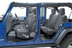 Smittybilt Front Neoprene Seat Covers with FREE Rear Cover   Jeep Parts and Accessories   Quadratec