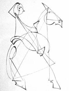 """thirdorgan: """" Frank Hinder (Australia, 26 Jun 1906 – 31 Dec 1992) To Ride a Cock Horse 1980 """""""