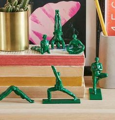 Set someone up on a much-needed blind date with their chakra with these yogi toy soldiers. | 28 Gifts For People You Don't Even Like