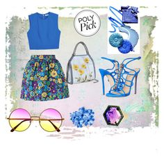 """""""#PolyPicks"""" by steffyyeah on Polyvore featuring moda, House of Holland, Alice + Olivia, Dsquared2, STELLA McCARTNEY e Phillips House"""