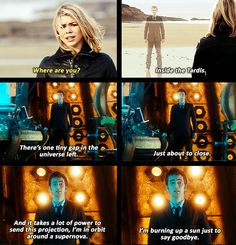 Tenth Doctor....hands down the saddest thing ever in a tv show!