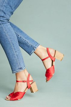 819daa3d38f7c6 Slide View  1  Anthropologie Cork-Heeled Sandals Heeled Sandals