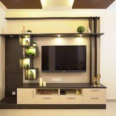 Tv Unit Furniture Design, Tv Unit Interior Design, Tv Wall Design, Room Interior, Tv Furniture, Apartment Interior, Modern Interior, Modern Tv Room, Modern Tv Wall Units
