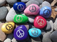 Easter Peace Rocks