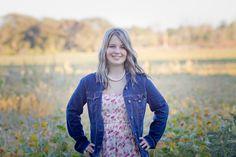 High School Girl Country Fall Amber Yanovich Photography | Jackson, MI