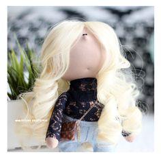 Портретная куколка. Portrait doll by eva-dolls.com