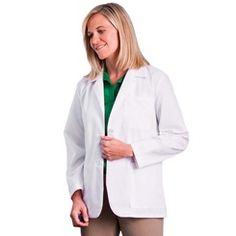 "Ladies 28"" Consultation Coat - #15104 (XXS-5X) - Think Medical"