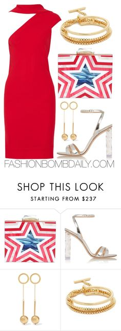 """""""Fourth of July"""" by dnicoleg ❤ liked on Polyvore featuring KOTUR, Gianvito Rossi, Marni, Eddie Borgo and Gareth Pugh"""