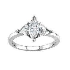 Marquise #diamond engagement #ring