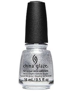China Glaze Nail Polish, Tinsel Town 1743 China Glaze Nail Polish, Opi Nail Polish, Nail Hardener, China Clay, New China, Silver Nails, Color Club, Nail Treatment, Nail Polish Collection