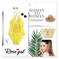 """""""Rosegal"""" by ermina-cmxiv ❤ liked on Polyvore featuring Giselle and Nika"""